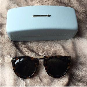 bcc72cfe795 Karen Walker Accessories - Karen Walker Super Lunar Crazy Tort Sunglasses